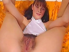 Amateur Pigtailed Teen Shows Off Her Hairy Pussy Porn Videos