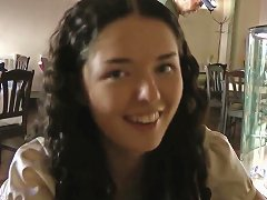 Young Brunette Leonora Looks Pretty And Makes Me Wild On The Street Porn Videos