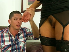 Old Woman And Young Stud Get Nice And Messy Together Porn Videos
