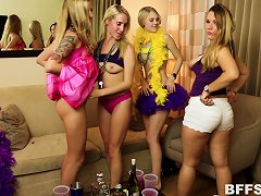 Mardi Gras Party Girls Invite Guys Home With Them For An Orgy Porn Videos