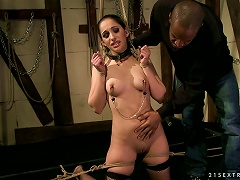 A Teasing Teen Gets Roped And Groped Porn Videos