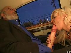 Skinny Blonde Gets Nailed By Older Guy Porn Videos