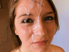 Adorable Teen Sucks And Gets Splashed Porn Videos