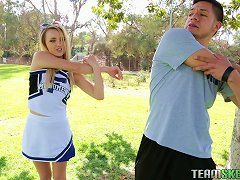 A Desperate Cheerleader Fucks Her Coach To Get On The Squad Porn Videos