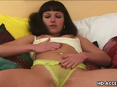 Super Sexy Brunette Solo Teen Has Tiny Vagina For ! Porn Videos