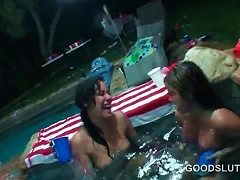 Teen Slut Nailed Doggy At  Pool Sex Party Porn Videos