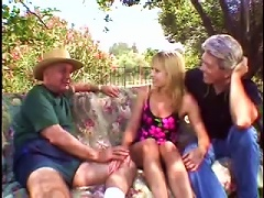 Retro Outdoors  For Blonde Milf Julie Young Porn Videos