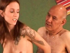 Angelina Is  With Old Dick For Cash Porn Videos