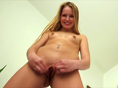 Adorable Teen In Knee Socks Plays With Her Vibrator Porn Videos
