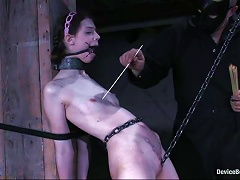 Skinny Teen In Glasses Gets Humiliated In A Basement Porn Videos