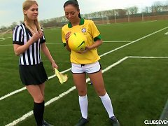 A Female Soccer Player And Female Ref Eat Pussy After A Match Porn Videos