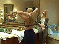 Blonde Seduces A Hot Blond Teen In Lesbian Action Vid Porn Videos