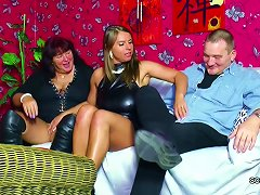Old German Couple Seduce Big Tit Teen To Fuck In Threesome Porn Videos
