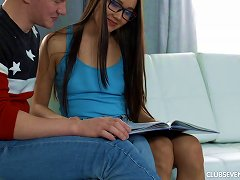 Leggy Teen Making Love To Her Man In A Beautiful Scene Porn Videos