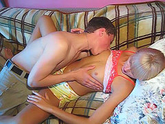 Tasty Spread Teen Pussy Getting A Good Licking. Porn Videos