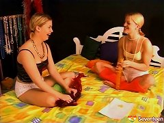 It's Time For An Incredible Lesbians Clip Featuring Very Torrid And Sassy Blondes Porn Videos