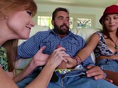 Top Cock Sharing Along Karter Foxxx And Darla Crane Porn Videos