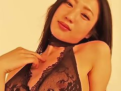 Gorgeous Asian Chick Mitsu Dan Loves To Demonstrate Her Nylon Lingerie Porn Videos
