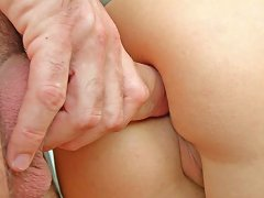 Playful Dark Haired Teen Gets Her Cunt Banged Hard In Doggy Style Porn Videos
