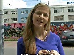 Czech Streets - Veronika Porn Videos