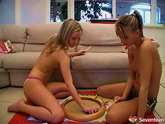 Am Sure You Want To See How These Kinky Lesbians Play With Their Moist Muffs Porn Videos