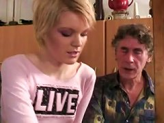 Russian Granddad Getting Some Young Blond Pussy Porn Videos