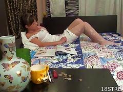 Sexy Slut Solenka Wildest Masturbation Solo Porn Videos
