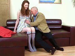 Old Goes Young - Alina Has A Great Looking Ass Porn Videos