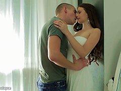 Buxom Teen Hottie In A White Dress Fucked Erotically Porn Videos