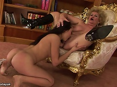 Effie The Schoolmaster And Her Nasty Old Pussy Porn Videos