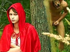 Red Riding Hood And The Big Bad Boner. Porn Videos