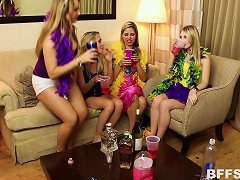 Mardi Gras Party Turns Into A Full Blown Group Sex Party Porn Videos