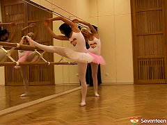 Hot Ballet Dancers Do Some Stretches And Eat Some Pussy Porn Videos