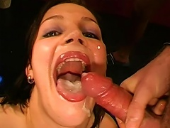 Young Sandra Is Eager To Swallow Porn Videos