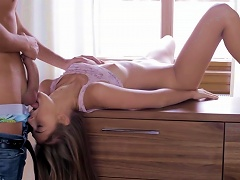 Slim Doll Opening For A Big Cock Porn Videos