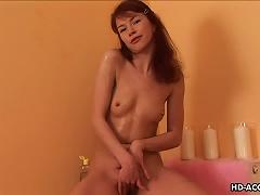 Kinky Redhead Teen With Tiny Tits Using Hot Wax Porn Videos