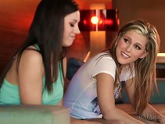 Awesome Teen Lesbians Shyla Jennings And Sasha Heart Porn Videos