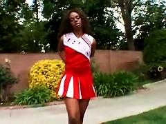 Ebony Cheerleader Gets Her Teen  Drilled Hard Porn Videos
