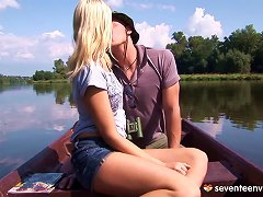During A Boating Trip He Puts His Rod In Her Tight Pussy Porn Videos