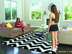 Teen Lesbian Cheerleader Gets Fucked Roughly By A Strapon Porn Videos